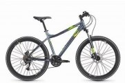 Велосипед S'cool troX 26 Prо 27 speed Altus Hydraulic серый матовый