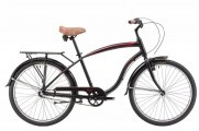 Велосипед Winner City 26 Corsa (beach cruiser) 18 черный 2017 (win17-042)