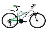 Велосипед Titan Tornado 26 White Black Green