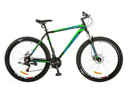 "29"" Optimabikes MOTION DD 2017 (черно-синий (м))"