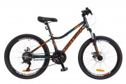 "24"" Optimabikes BLACKWOOD DD 2018 (черно-оранжево-синий (м))"