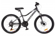 "24"" Optimabikes BLACKWOOD DD 2018 (черно-белый (м))"