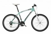 Велосипед Bianchi 26 Kuma 4600 limited Acera mix V-Brake 53 салатово-серебряный (Y3BV5U53GZ)